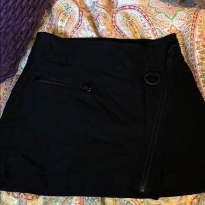 Urban outfitters black Moto skirt